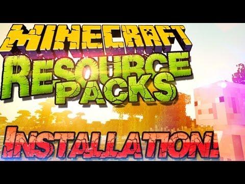  Minecraft 1.9 Resource Packs Installieren  Texture Packs & Sound Packs |German Deutsch Mac Win
