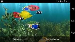 Aquarium Live Wallpaper YouTube video