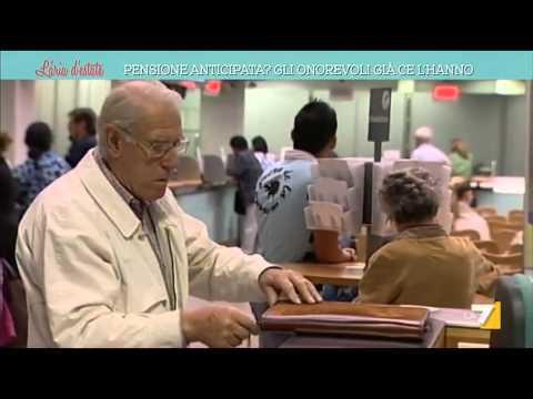 pensione anticipata: i politici ce l'hanno!