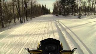 10. Ride Ski-doo Renegade Adrenaline 900 ACE (15-01-15) Part 1