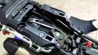 9. Triumph Tiger Explorer XC Auxiliary socket install
