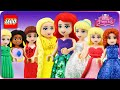♥ LEGO Disney Princess ENCHANTED TALES Compilation (Ariel, Frozen, Rapunzel, Cinderella..)