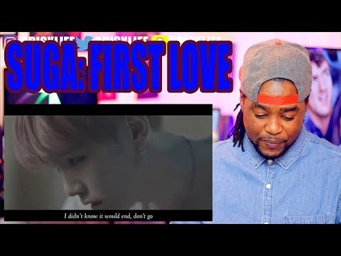 BTS  SUGA  FIRST LOVE  Wings Film #4  REACTION!!! fan made mv