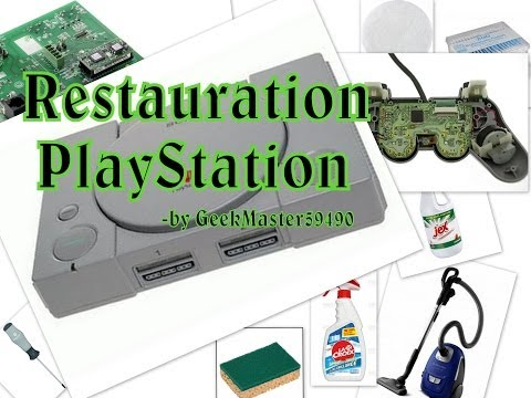 comment reparer une playstation 1. Black Bedroom Furniture Sets. Home Design Ideas
