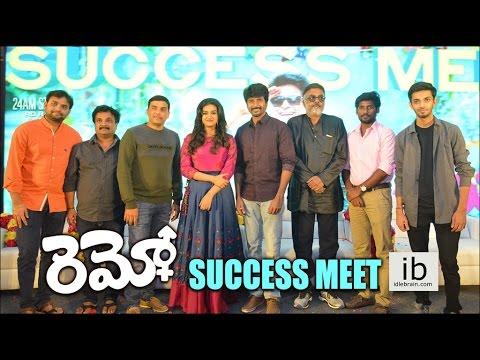 Remo success meet