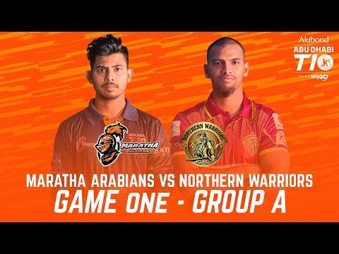 Match 1 HIGHLIGHTS I Maratha Arabians vs Northern Warriors I Day 1 I Abu Dhabi T10 I Season 4