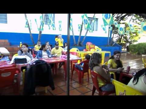 Jogo do Brasil x Cro�cia na Lanchonete da AFMM
