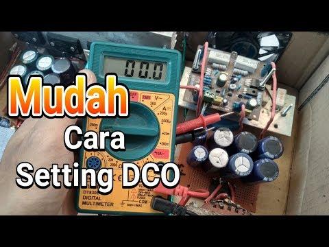 Cara mudah cek DCO Power Ampli