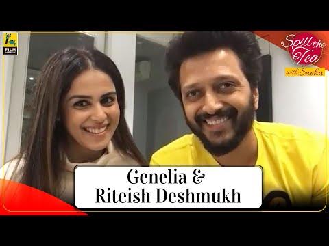 Genelia & Riteish Deshmukh | Spill the Tea With Sneha Menon Desai | Film Companion