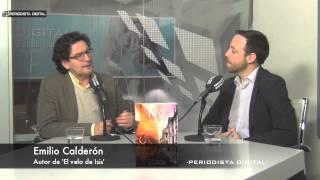 Emilio Calderón, autor de 'El velo de Isis'. 18-12-2014