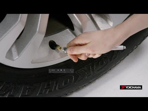 Tires 101: How to Check Tire Pressure