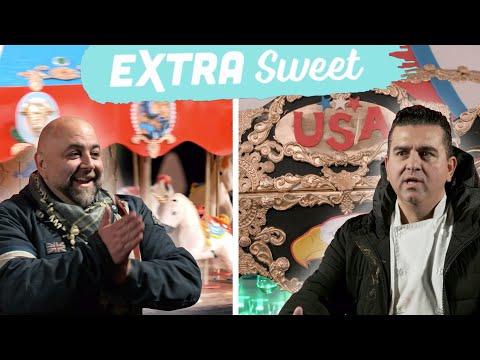Buddy & Duff Make Theme Park-Inspired Cakes | BuddyVsDuff