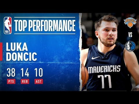 Luka Records Career-High In PTS & 4th Triple-Double Of Season
