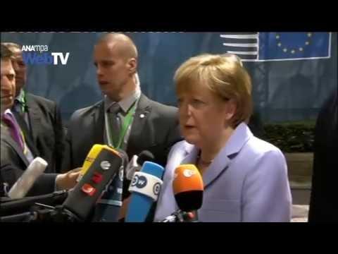 Α. Μέρκελ: Η Ελλάδα να συνεργασθεί με τους Θεσμούς