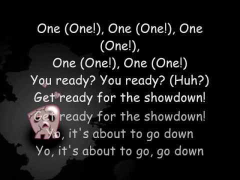Tekst piosenki Black Eyed Peas - Showdown po polsku