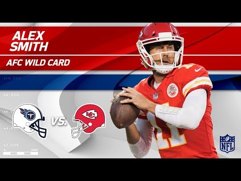Video: Alex Smith's 264 Yards Passing & 2 TDs vs. Tennessee! | Titans vs. Chiefs | Wild Card Player HLs