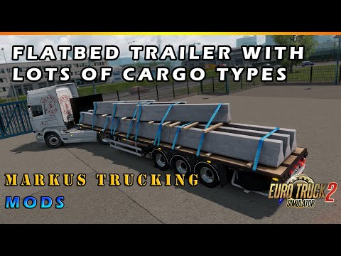 Flatbed Trailer 1.36.x