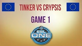 TTinker vs Crypsis, game 1