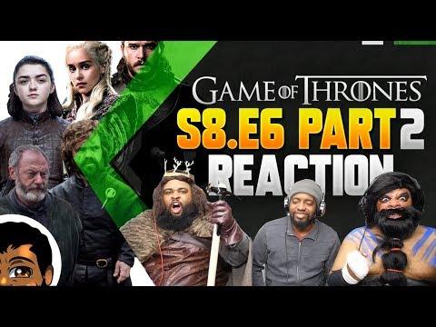 "Game of Thrones Season 8 Finale   ""The Iron Throne"" Reaction (P2)"