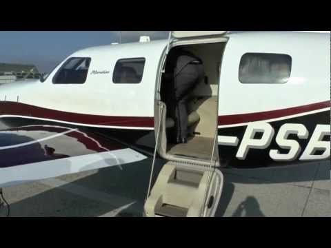 Piper Meridian G1000 demo flight