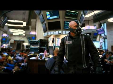 The Dark Knight Rises Stock Exchange Hit and Escape