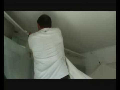 comment demarrer un plafond en pvc