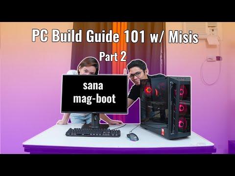 VLOG: Tinuruan ko si Misis PAANO mag-build ng Gaming PC - FULL Build Guide [Part 2]