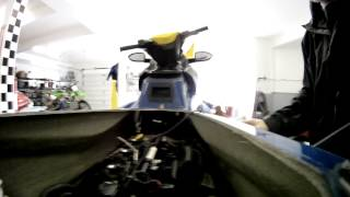 9. seadoo oil change and survice 4 tec