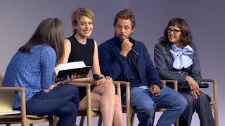 Maggie's Plan Interview with Travis Fimmel, Greta Gerwig and Rebecca Miller