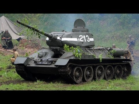 T-34 Russian Victory | One of the Most Successful Tanks ever Made