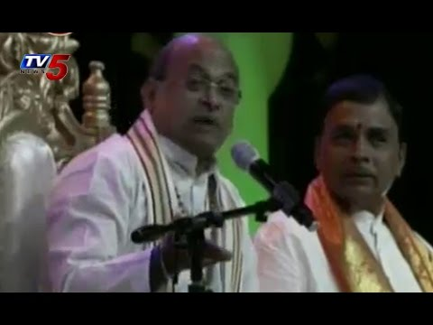 Garikipati Narasimha Rao Avadhanam at ATA 13th Convention 2014 : TV5 News