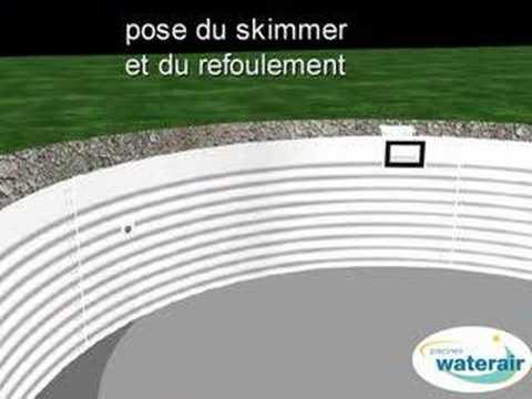 comment poser des margelles autour d 39 une piscine waterair. Black Bedroom Furniture Sets. Home Design Ideas
