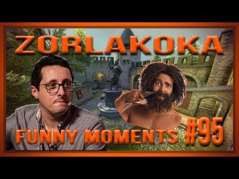 PT] zorlaKOKA Funny Moments - UM GAJO QUE FAZ A BARBA É UM PROFISSIONAL!!!  - #95