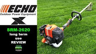 1. Echo X-Series SRM-2620 String Trimmer Long Term Use Review
