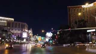 The Las Vegas Strip - Time Lapse Video Tour