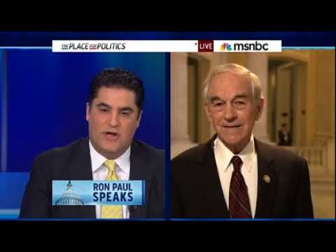 "Ron Paul destroys Cenk Uygur on ""Taxes is Theft"" and ""Social Security Right"""