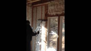 Using Spray Foam Insulation