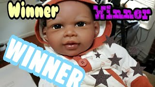 Winner of Paradise Galleries Doll - Reborn Baby Doll