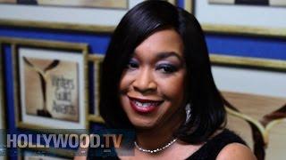 Shonda Rhimes At The WGA's - Hollywood TV