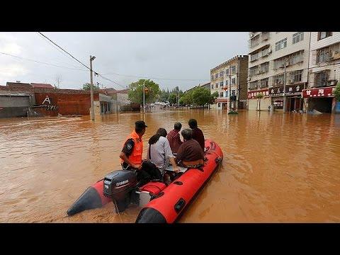 Εκτεταμένες πλημμύρες στην Κίνα