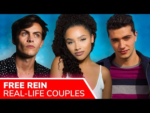 FREE REIN Cast Real-Life Couples ❤️ Freddy Carter's co-star girlfriend & Jaylen Barron's secret love