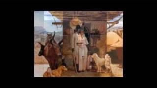 Ethiopian Painting: Mezgebu Tessema Paying Homage To The World Of The Ethiopian Peasant