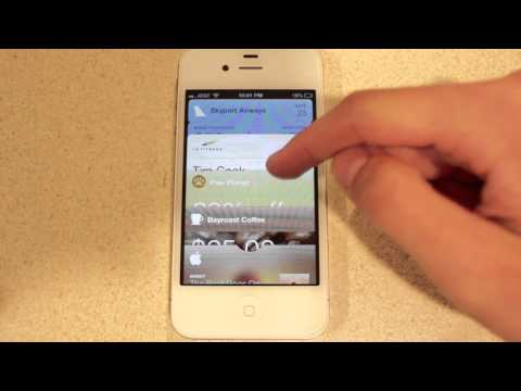 How To Start Using Passbook On iOS 6