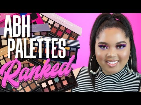 ABH Palettes RANKED! | Least to Most FAVORITE!