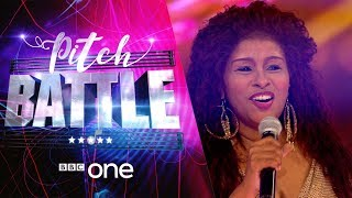 Pitch Battle website: http://bbc.in/2tspn3j Scot Soul sing 'I'm Every Woman'. Featuring their Superstar Guest Judge Chaka Khan.