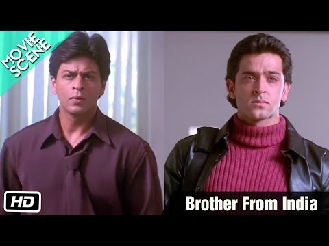 Brother From India - Movie Scene - Kabhi Khushi Kabhie Gham - Shahrukh, Kareena, Hrithik