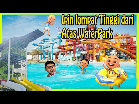 Ipin L0mp4t Di Water Park Asik Sekali Main Air - Gta Lucu Dyom