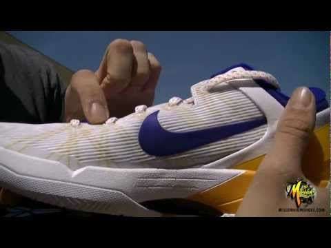 0 Nike Zoom Kobe VII Lakers Home   Arriving at Retailers