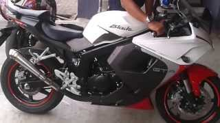 9. Hyosung , Naza Blade , Comet GT250R SOUND WITH GP MUFFLER