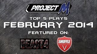 Best of Smash: Top 5 Project M Plays of February 2014 By EMG